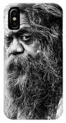 Portrait Of An Australian Aborigine IPhone Case