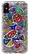 Portrait Of Giggling Colors IPhone Case