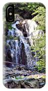 Portrait Of Houston Brook Falls IPhone Case