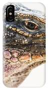 Portrait Of Iguana IPhone X Case