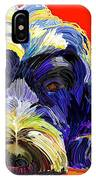 Portugese Water Dog 1 IPhone Case