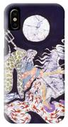 Poseidon Rides The Sea On A Moonlight Night IPhone Case