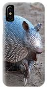 Posing Armadillo IPhone Case