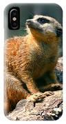 Posing Meerkat IPhone Case