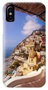 Positano View IPhone Case