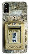 Postes IPhone Case