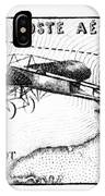 Postage Stamp: Bleriot IPhone Case