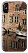 Postcard Canal II IPhone Case