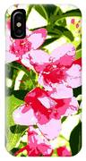 Poster Pink IPhone Case