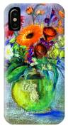 Pot Of Flowers IPhone Case