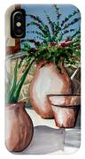Pots And Bougainvillea IPhone Case