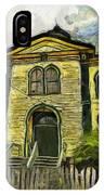 Potter Schoolhouse IPhone Case