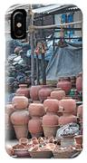 Pottery Shop In India IPhone Case