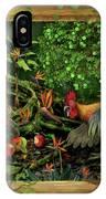 Poultrified Garden Of Eden IPhone Case