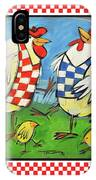 Poultry In Motion Poster IPhone Case