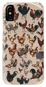 Poultry Of The World Poster IPhone Case