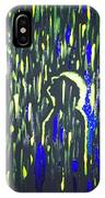 Pouring Rain And Light IPhone Case