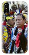 Pow Wow Back In Time 1 IPhone Case
