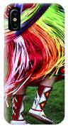 Pow Wow Beauty Of The Past 9 IPhone Case