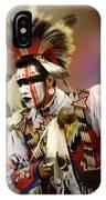 Pow Wow Chicken Dancer 1 IPhone Case