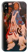 Pow Wow  Dancer  IPhone Case