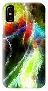 Powwow Dancer Abstract IPhone Case
