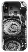 Prague Astronomical Clock 1410 IPhone Case