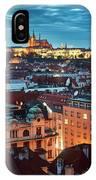 Prague At Night IPhone Case