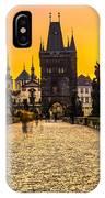 Prague - Charles Bridge - Czech Republic IPhone Case