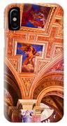 Prague Church Ceiling IPhone Case