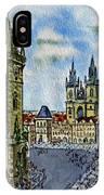 Prague Czech Republic IPhone Case