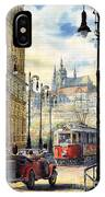Prague Kaprova Street IPhone Case