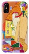 Prague Old Street Ceminska Novy Svet IPhone Case