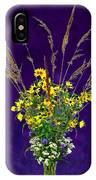 Prairie Bouquet IPhone Case