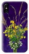 Prairie Bouquet IPhone Case