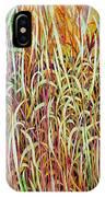 Prairie Grasses IPhone X Case