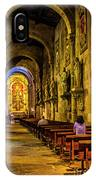 Prayers In The Cathedral IPhone Case