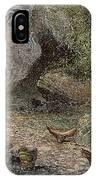 Prehistoric Man: Pottery IPhone Case