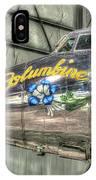 Presidential Aircraft - Lockheed Vc-121e Columbine IPhone Case