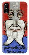 Presidential Tooth 2 IPhone Case by Anthony Falbo
