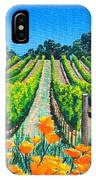 Presidio Vineyard IPhone Case