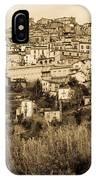 Pretoro - Landscape In Sepia Tones  IPhone Case