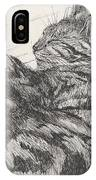 Pretty Collie Beastie IPhone Case