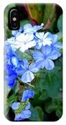 Pretty In Blue Photograph IPhone Case