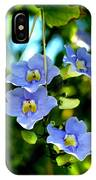 Pretty In Blue IPhone Case