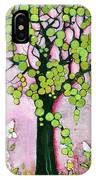 Pretty In Pink Paradise Tree IPhone X Case