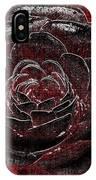 Pretty In Red IPhone Case