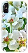 Pretty In White IPhone Case