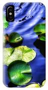 Pretty Lily Pads IPhone Case