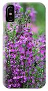 Pretty Pink And Purple Flowers IPhone Case